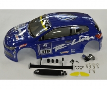 1:10 Karosserie VW Scirocco blau X10E