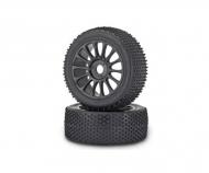 1:8CY Tyre/Wheel-Set Buggy, black (2)