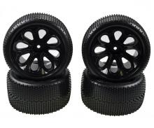 X10ET Rock Warrior Pre glued tyres 4x