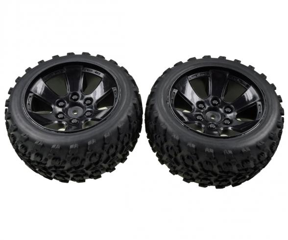 FY10 Truggy Reifen-/Felgenset(2)
