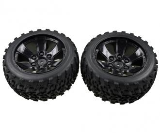FY10 Truggy wheel set (2 pcs)