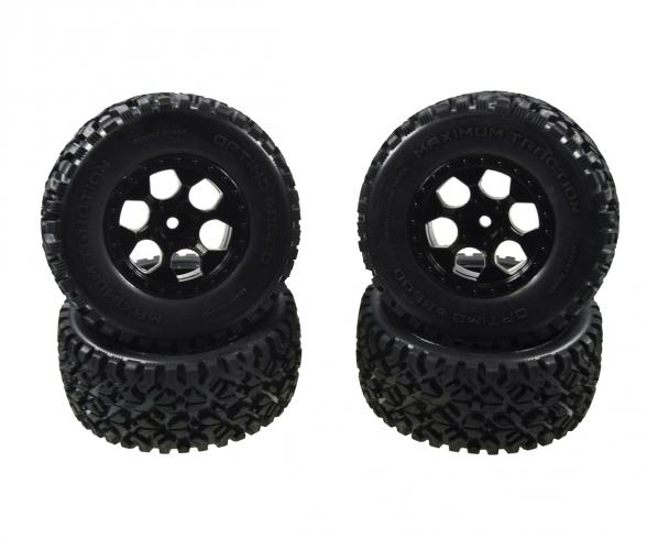 Desert W.4x Tyre Wheel Set