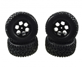 Desert W.4x Tyre Wheel Set