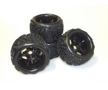 Virus Race/Beat Warrior Set pneus (4)
