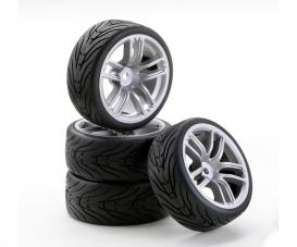 1:10 SC-Räder GT Style silber (4)