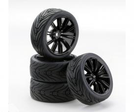 1:10 SC-Räder VINS Style schwarz (4)
