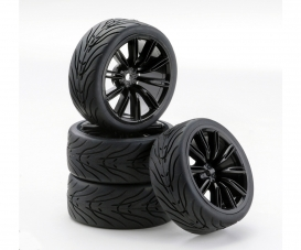 1:10 SC-Wheel VINS Style black (4)