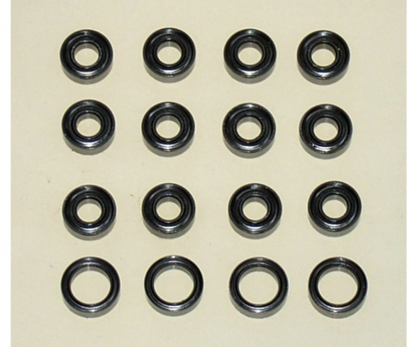 Set de paliers TT02B/TT01E/TT01 (16)
