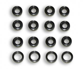 TT02B/TT01E/TT01 Ball bearing set (16)