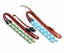 LED Lichtstab Set blau