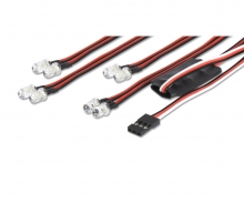 LED Light-Set 4+4 by Radio