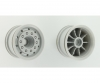1:14 Truck Front Wheel wide gray (2) ABS