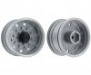 1:14 Trailerwheel f. Tire wide Silver(2)