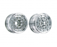 1:14 Truck Front Wheel wide Chrome (2)