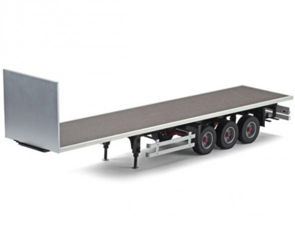 1:14 3-Axle Flatbed-Trailer Ver.II