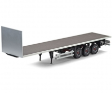 1:14 3-Axle Flatbed-Trailer Ver.II