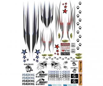 1:14 Sticker Truck Ornamental Strip