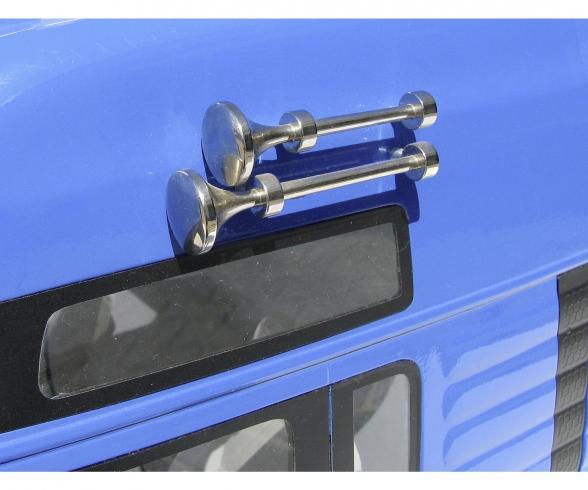 1:14 Air Horn-Set long/short chr.brass