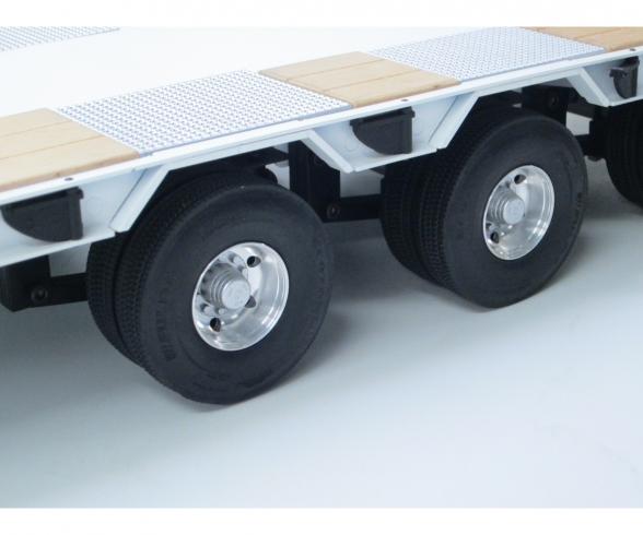 1:14 Alum. Low Loader Twin-Wheel Set (2)