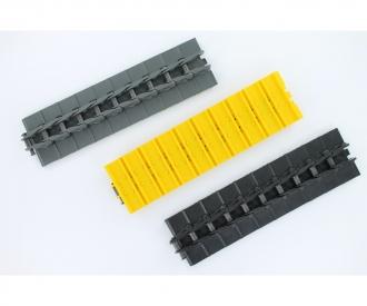1:14 LR Track with 2 stud link grey (10)