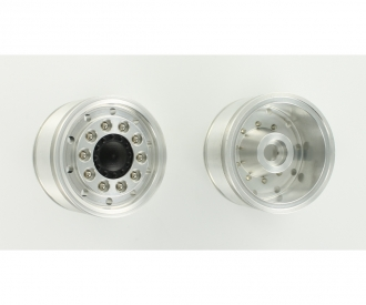 1:14 Alum. Front wheel wide/round h. (2)