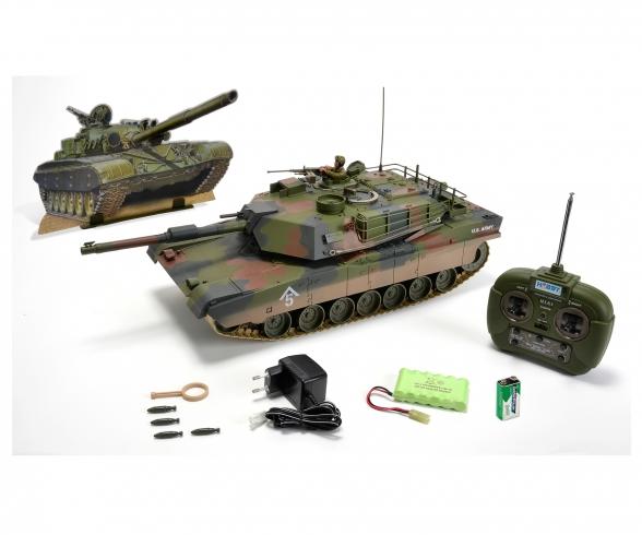 1:16 M1 A1 Abrams, 27 MHz, 100% RTR