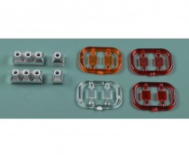 1:14 3+1-section (2) Trailer Taillight