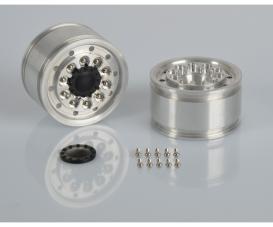 1:14 Alum. Fr. wide wheel (2)driv. axle