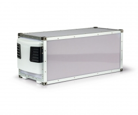 1:14 20Ft. Refrigerated Container Kit