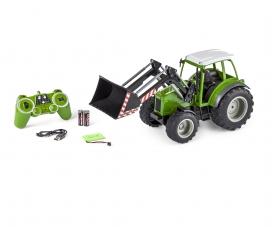 1:16 RC Traktor m. Frontlader 2.4G 100%