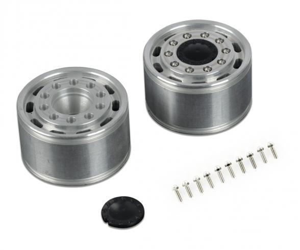 1:14 Alum. Front wheel wide/long h. (2)