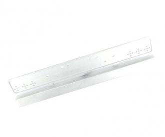 1:14 Alum. Trailer Bumper Euro (3Sec TL)