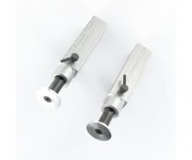 1:14 Alum. Trailer support legs (2) 73mm