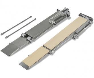 1:14 Steel ramp set Goldhofer Low load.