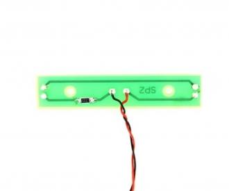 1:14 7,2-14V PCB License plate illumin.