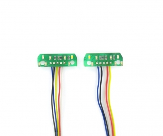 1:14 7,2V LED-PCB 7-Section taillight