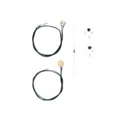 1:14 7,2/12V Angle Eyes whi. SMD LED PCB