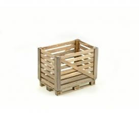 1:14 Holzgitterbox auf Europalette