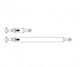 1:14 Prop.shaft Set 6x4 (2) Tipper adj.