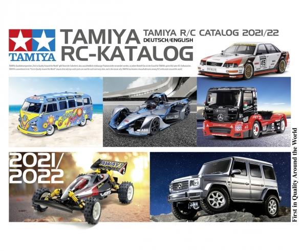TAMIYA RC-Katalog 2021/22 DE/EN