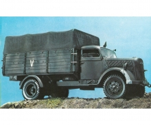 1:35 German Truck 3to. TYPE S