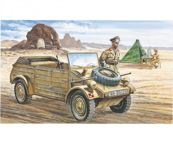 1:35 VW Typ 82 Kübelwagen