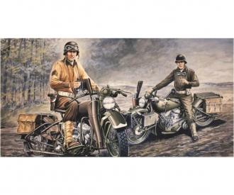 1:35 U.S. Motorcycles WWII