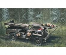 1:35 1/4 Ton 4x4 Ambulance Jeep
