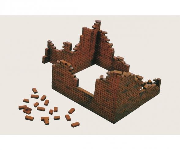 1:35 Ziegelmauern