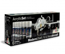 Acryl Set Modern USAF/U.S. Navy Aircraft