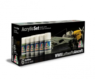 Acrylic Set WWII Luftwaffe Aircraft