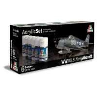 Acryl Set WWII U.S. Navy Aircraft