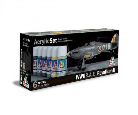 Acrylic Set R.A.F./Royal Navy II