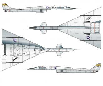 1:72 XB-70 Valkyrie